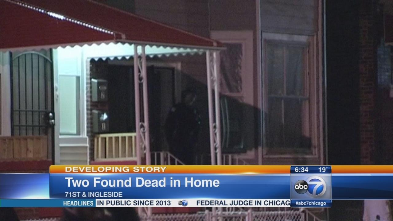 2 found dead in Grand Crossing home