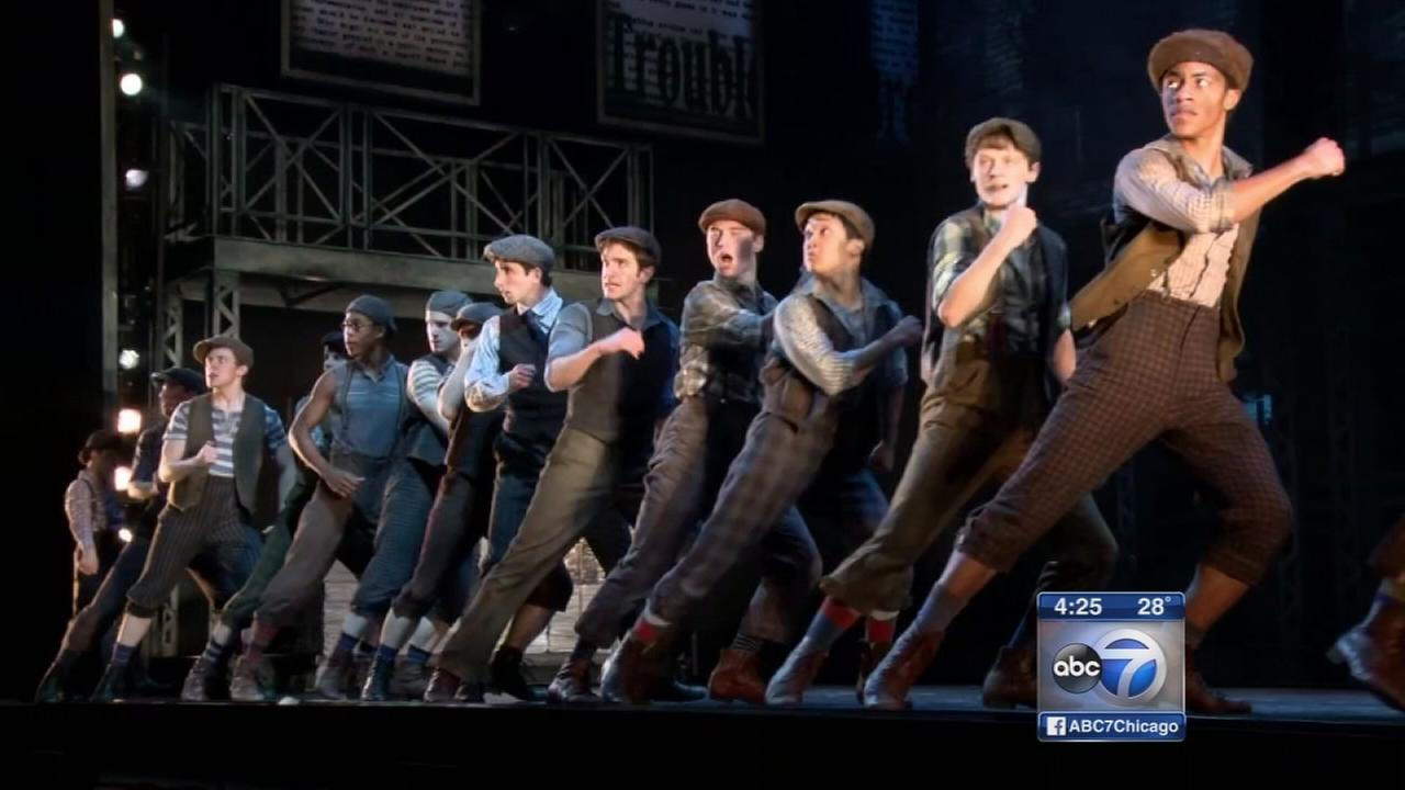 Newsies amazes audiences with choreography