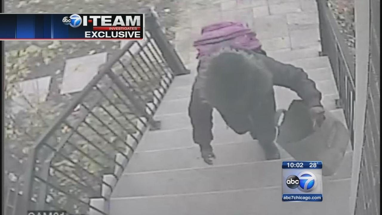 Package thief caught on video