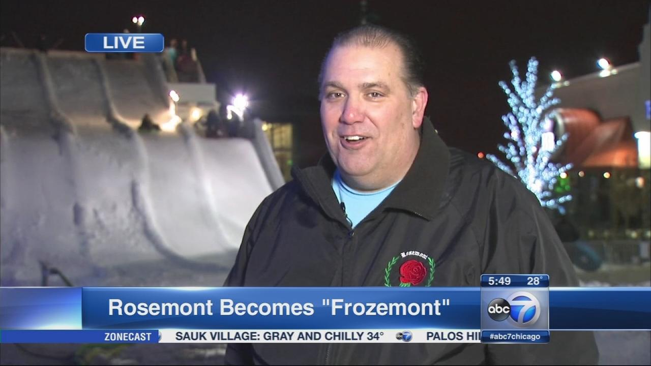 Rosemont becomes Frozemont
