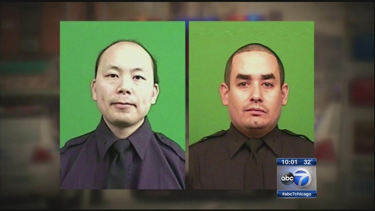 2 NYPD officers killed in Brooklyn shooting ambush