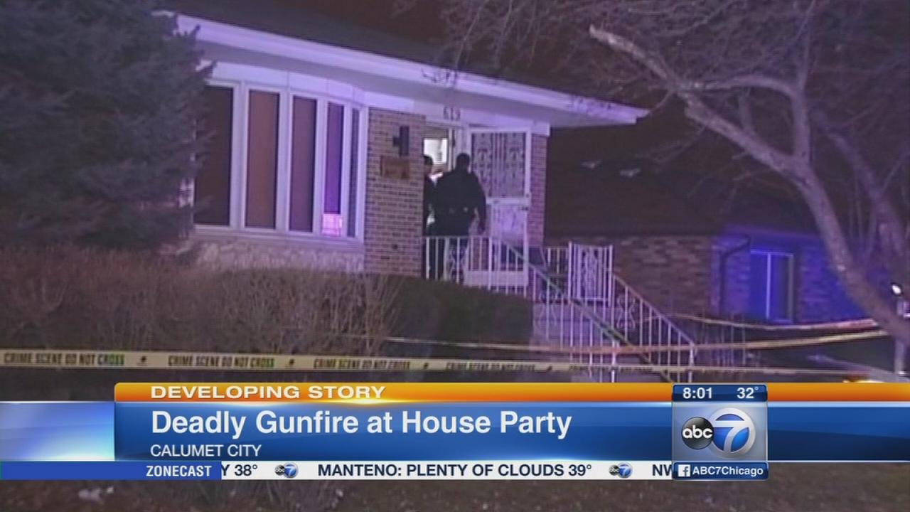 Calumet City house party shooting kills 1, injures 11