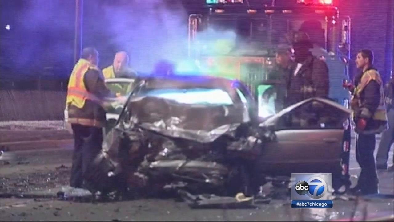 Wrong-way driver killed in Lake Shore Drive crash