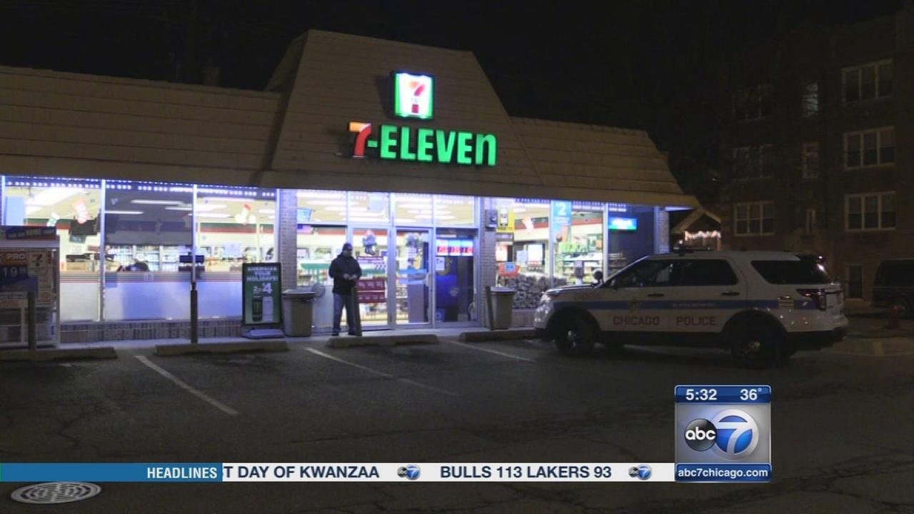 Clerk returns fire after robbery