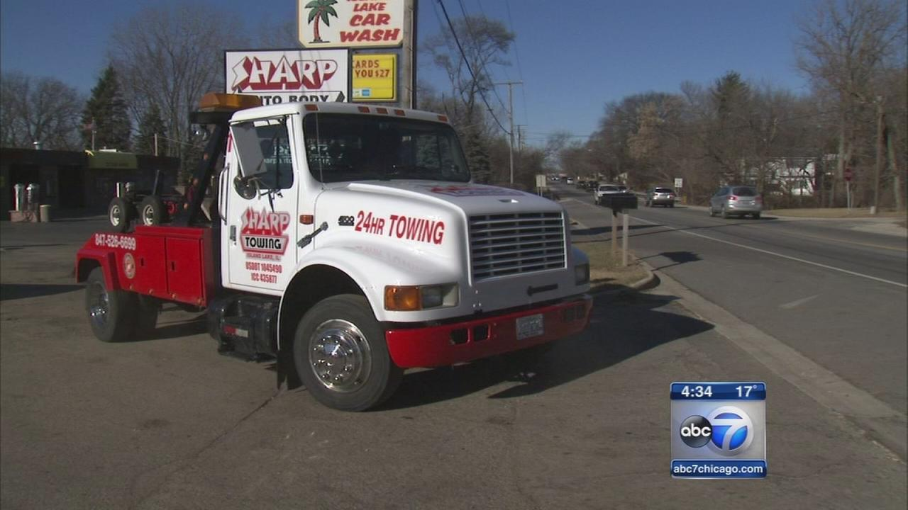 Tow truck driver offers free rides on New Years