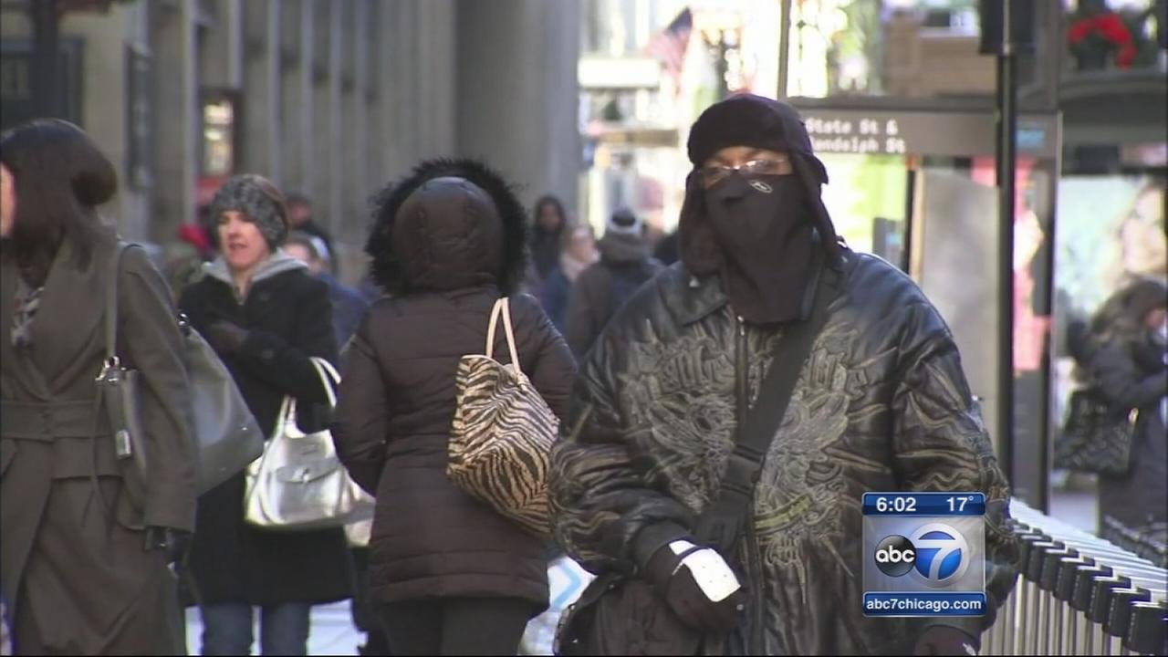 Cold, windy forecast for New Years Eve