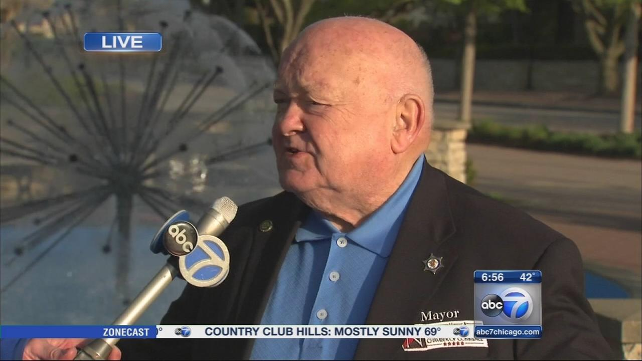 Naperville Mayor George Pradel