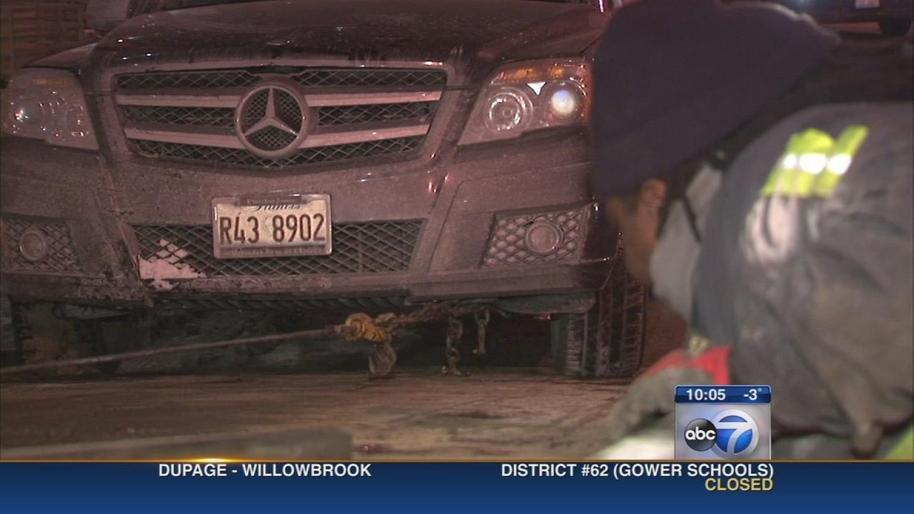Auto repair shops busy during extreme cold