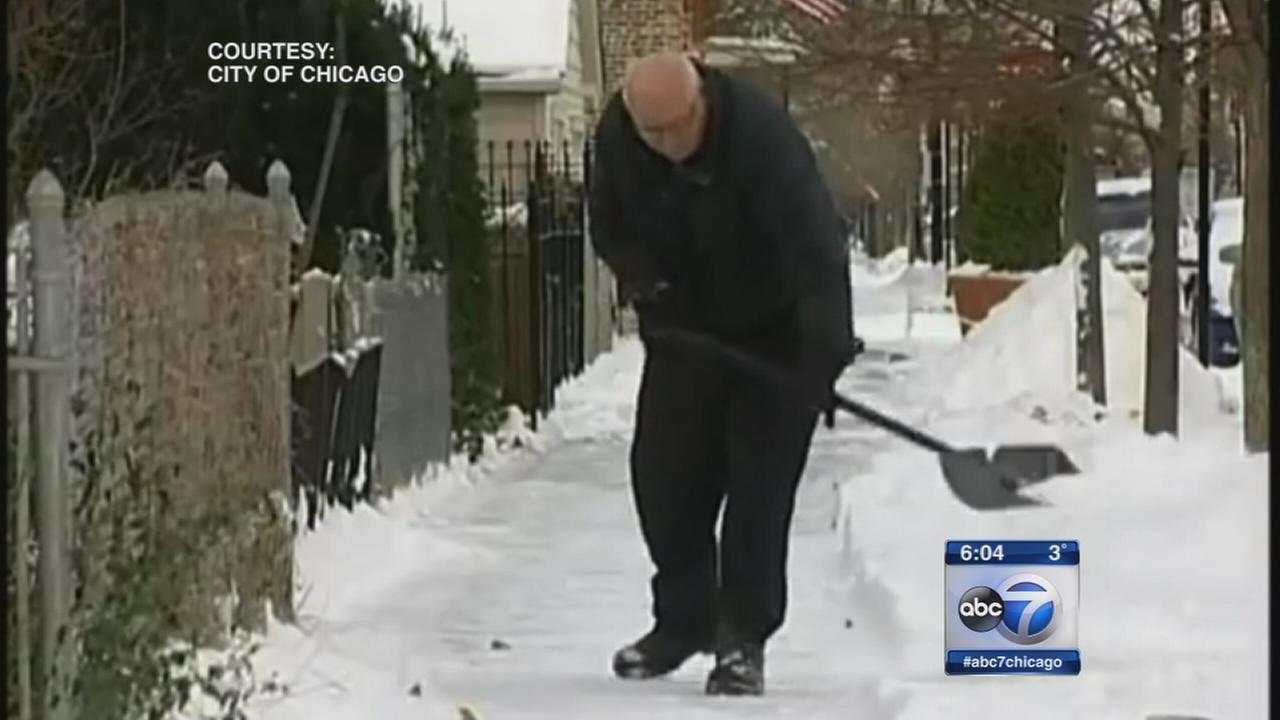 City can fine for unshoveled sidewalks