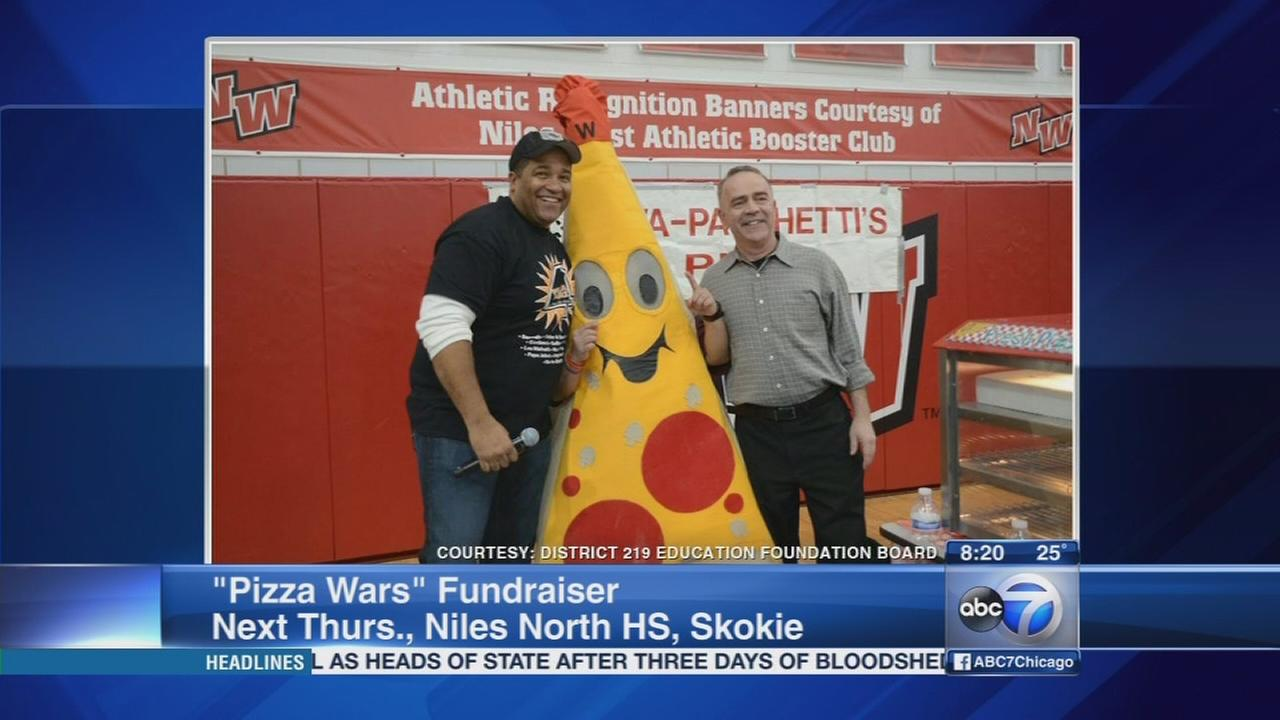 Local pizzerias face off in Pizza Wars fundraiser