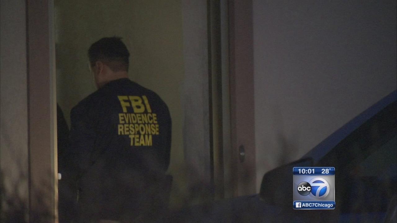 FBI agents return to suburban crematorium