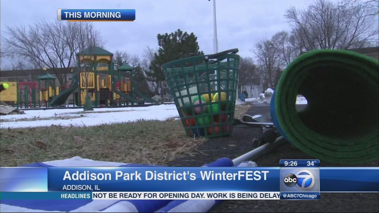 Addison Park District?s WinterFEST