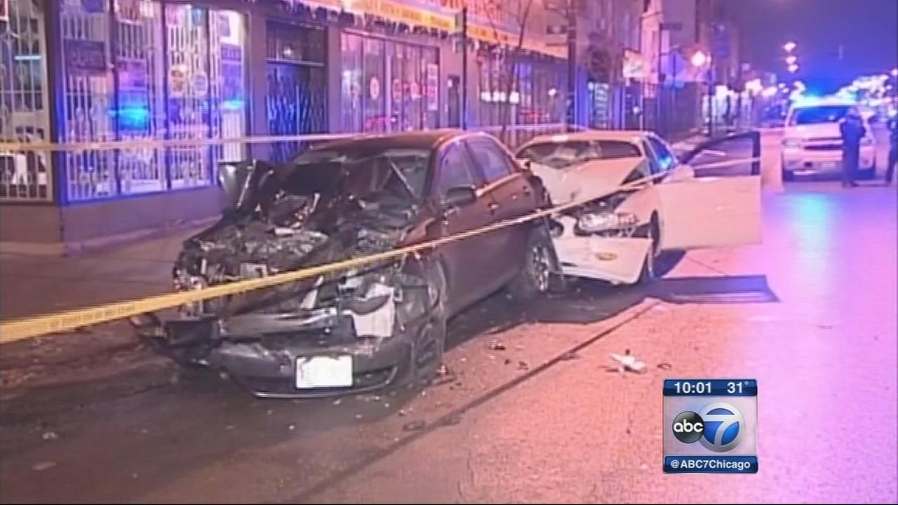 2 killed in Humboldt Park hit-and-run crash, driver in custody