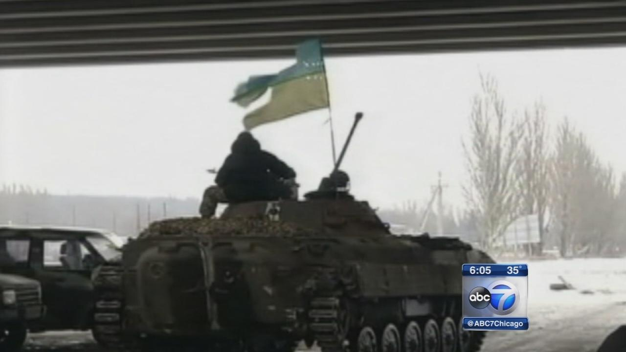 Ukraine, rebels both claim to control Donetsk airport