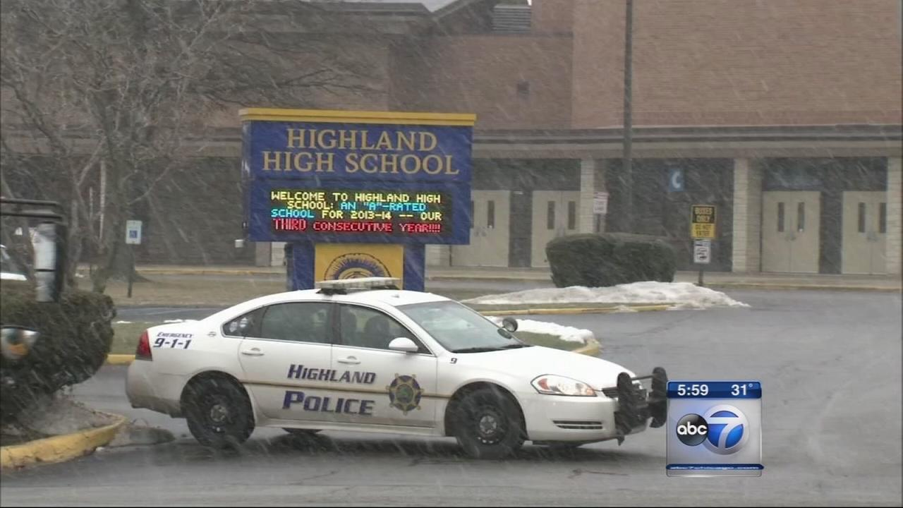 Highland High School lockdown lifted