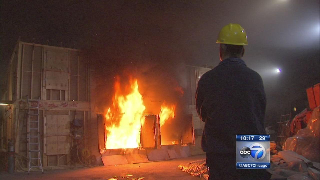 Cutting-edge fire research could help save lives
