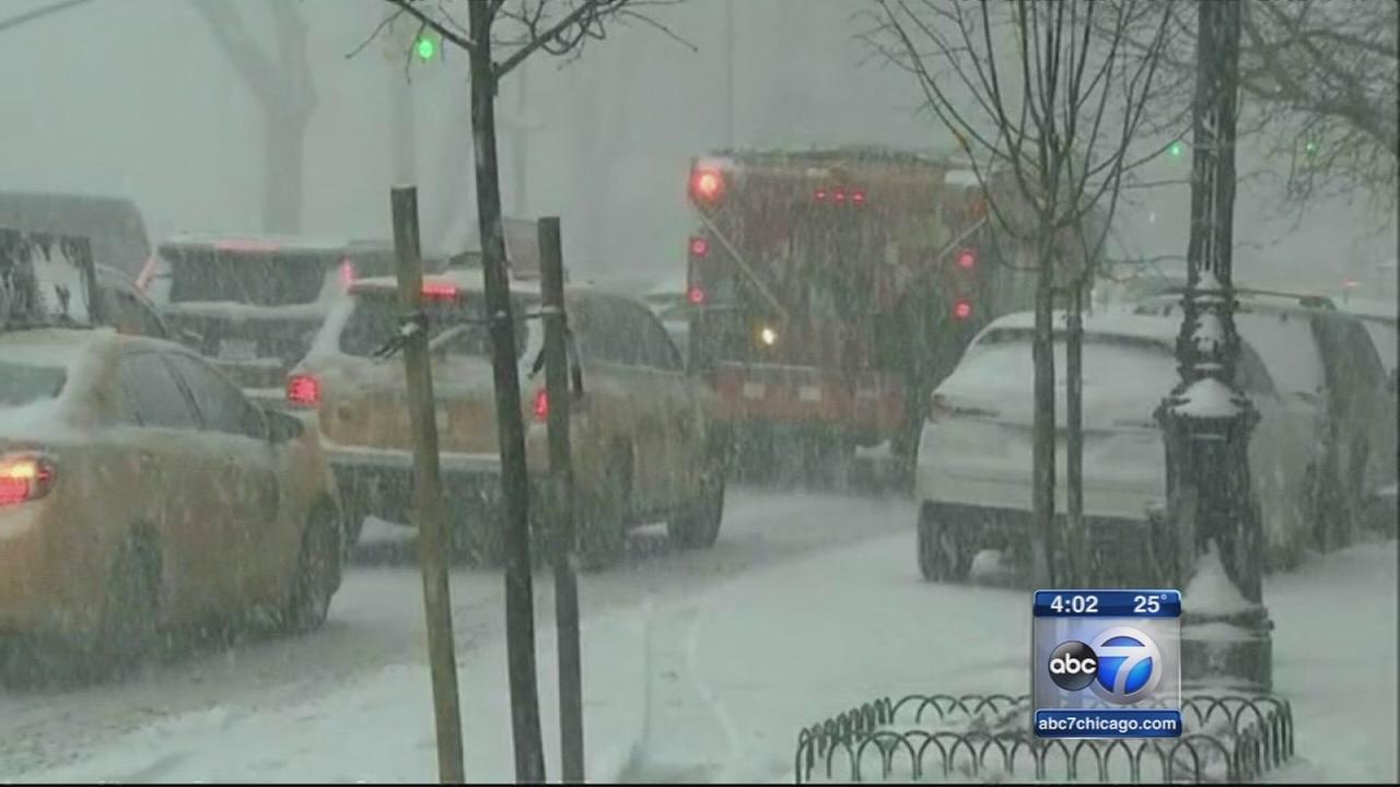 East Coast braces for blizzard