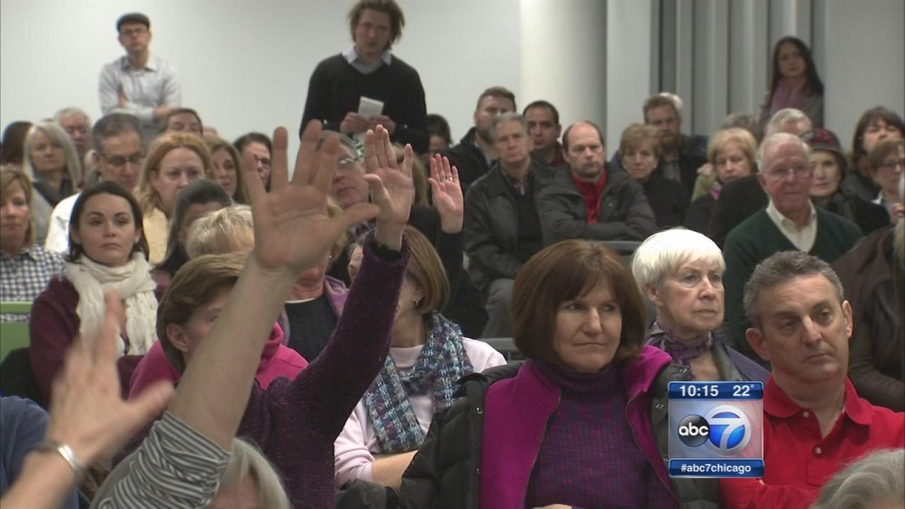 Groups debate dog ban in Maggie Daley Park