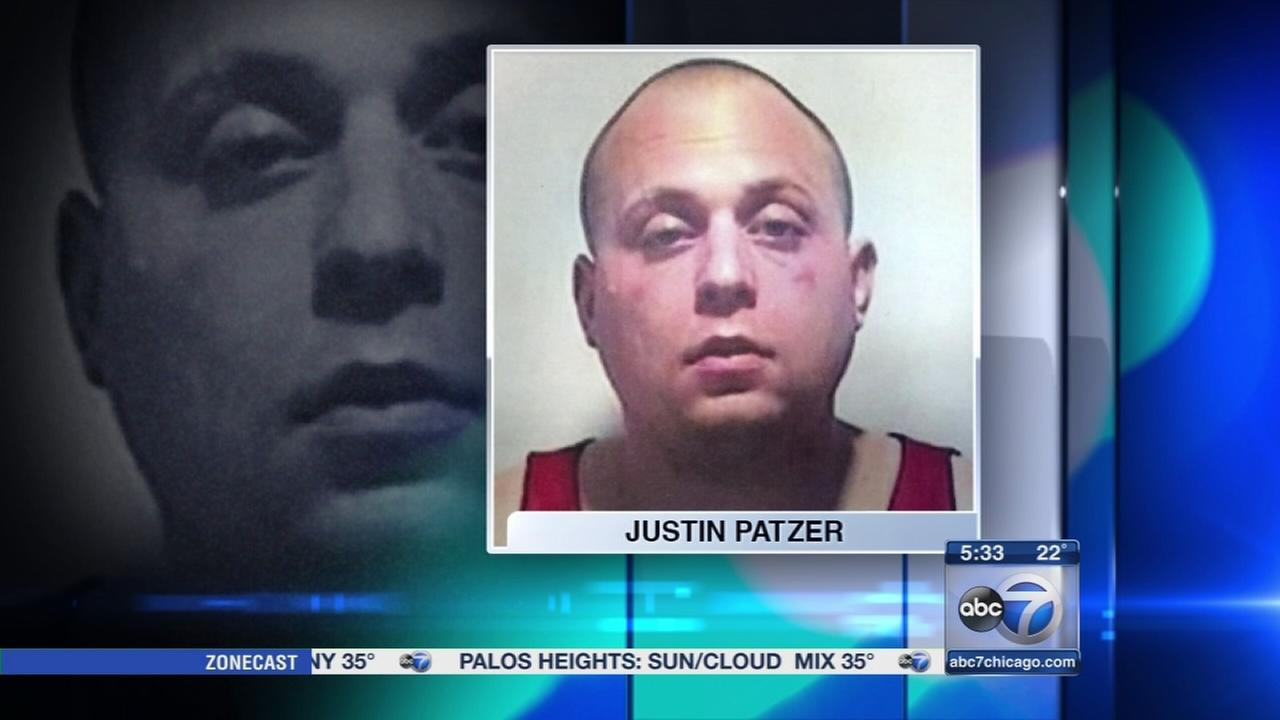 Justin Patzer in custody, charged overnight