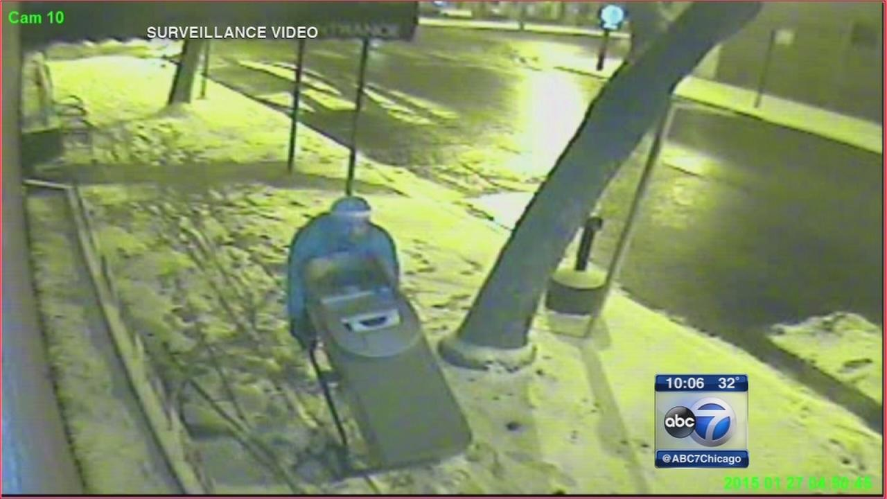 ATM theft caught on video