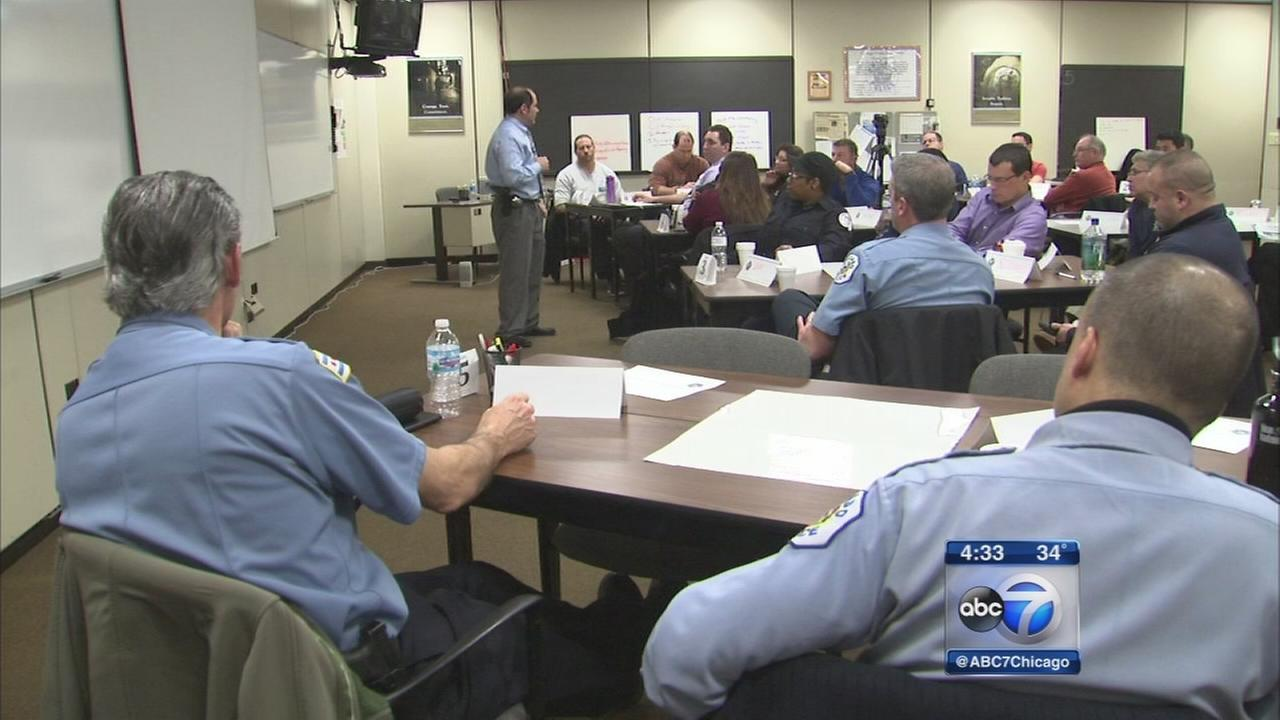 Training programs focus on police, community relations