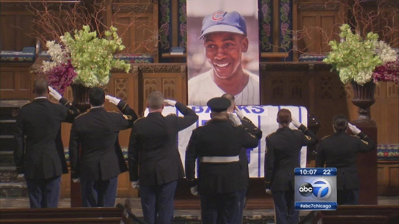 Hundreds say goodbye to Mr. Cub