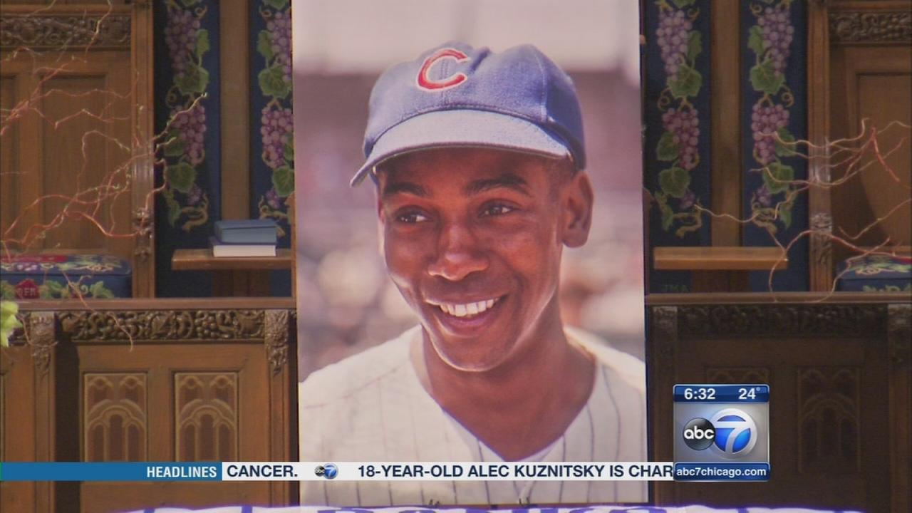 Ernie Banks memorial service to be held Saturday