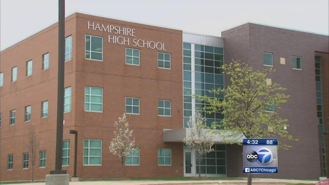 Hampshire High School teacher accused of improper behavior