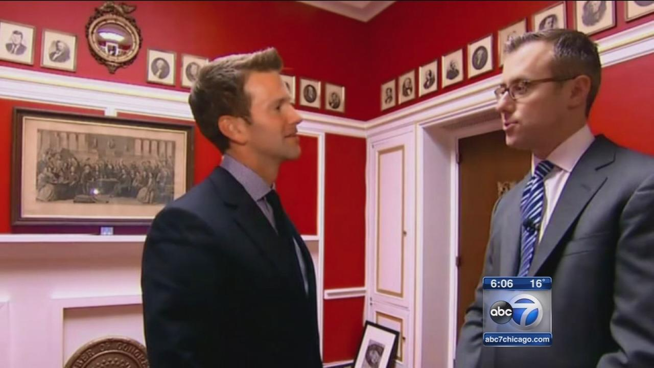 IL congressman breaks silence since office makeover