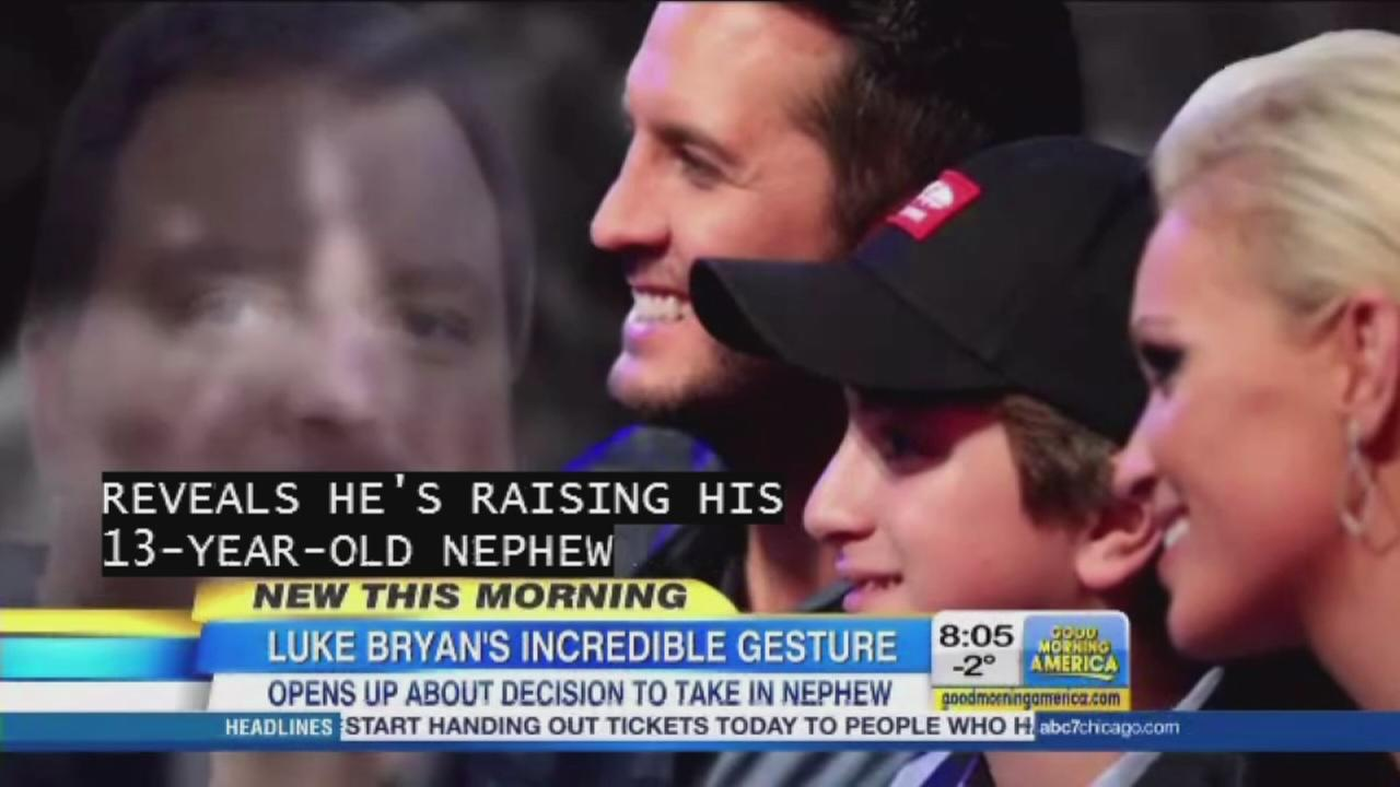 Luke Bryan Takes In Nephew After Death Of Sister Brother