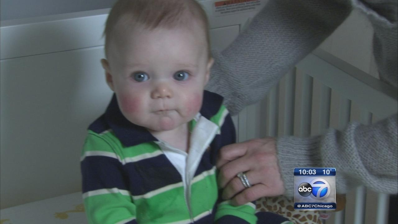 Measles outbreak worries parents of infants