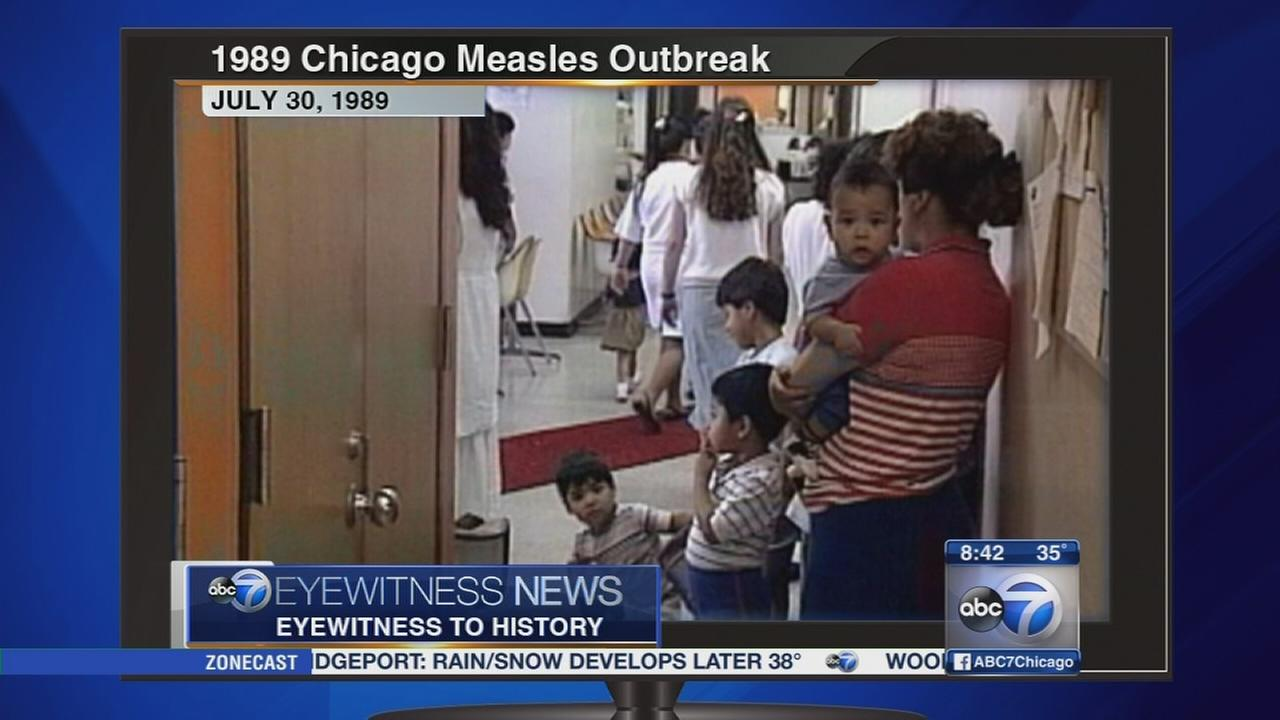 Eyewitness to History 1989 measles outbreak