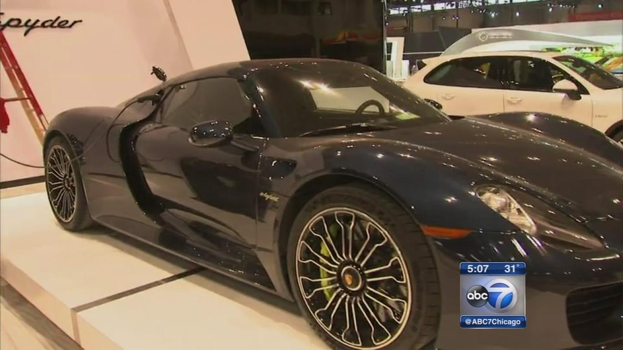 Chicago Auto Show to feature ?super cars,? new technology
