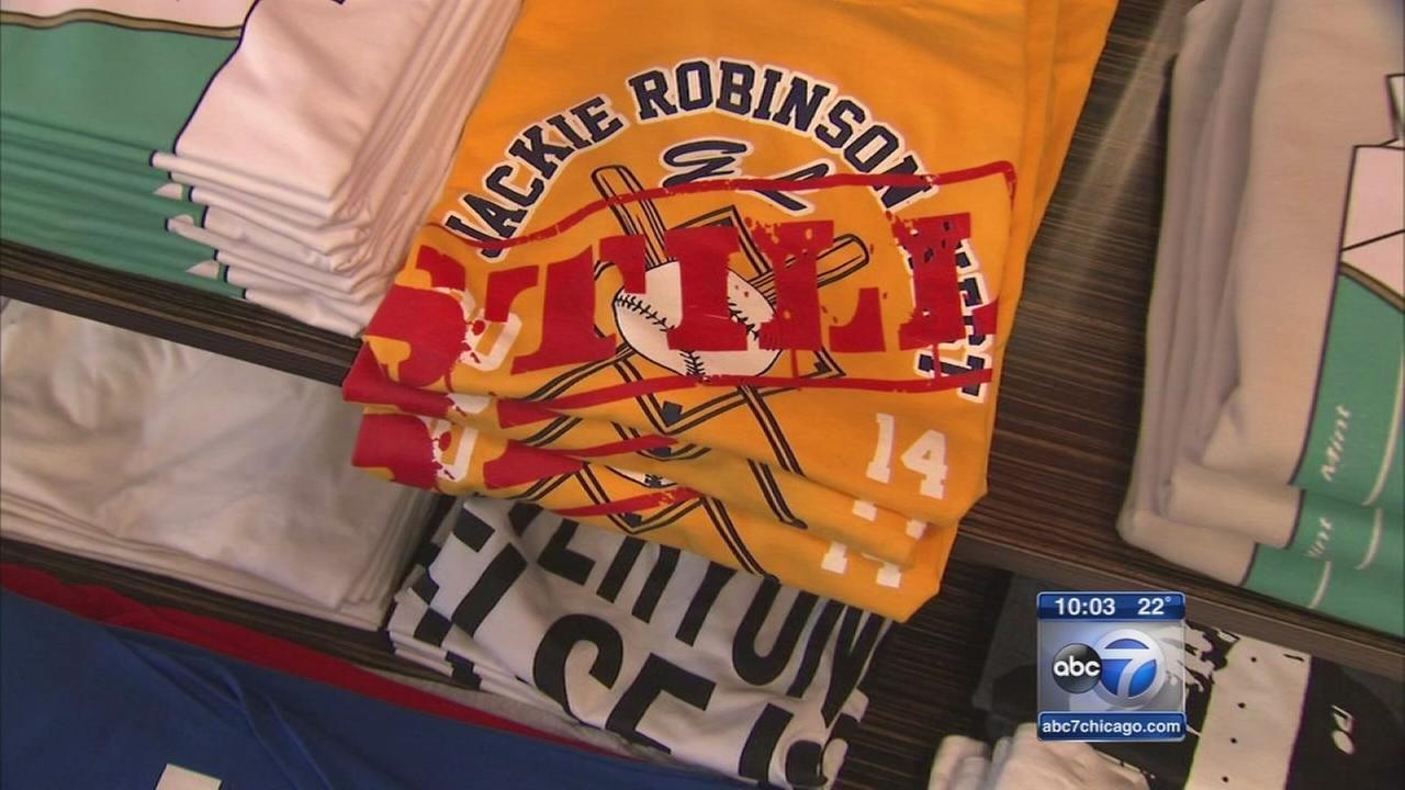 T-shirt proclaims JRW Champions Still
