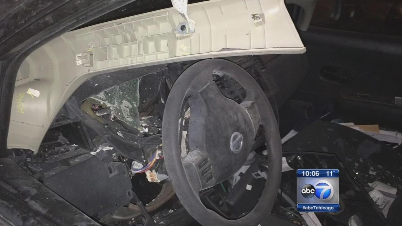 Student questions if someone vandalized her car over dibs