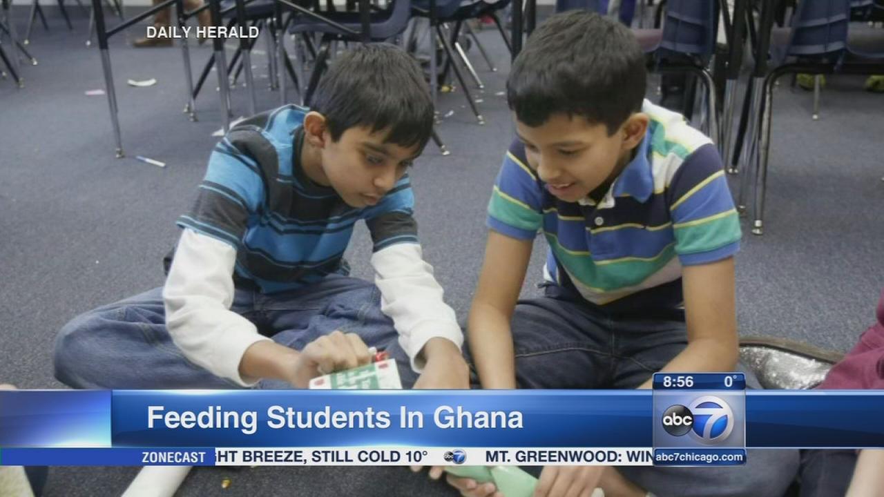 Daily Herald: Feeding Students In Ghana