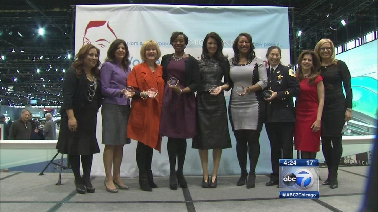 Womens Day at the Chicago Auto Show