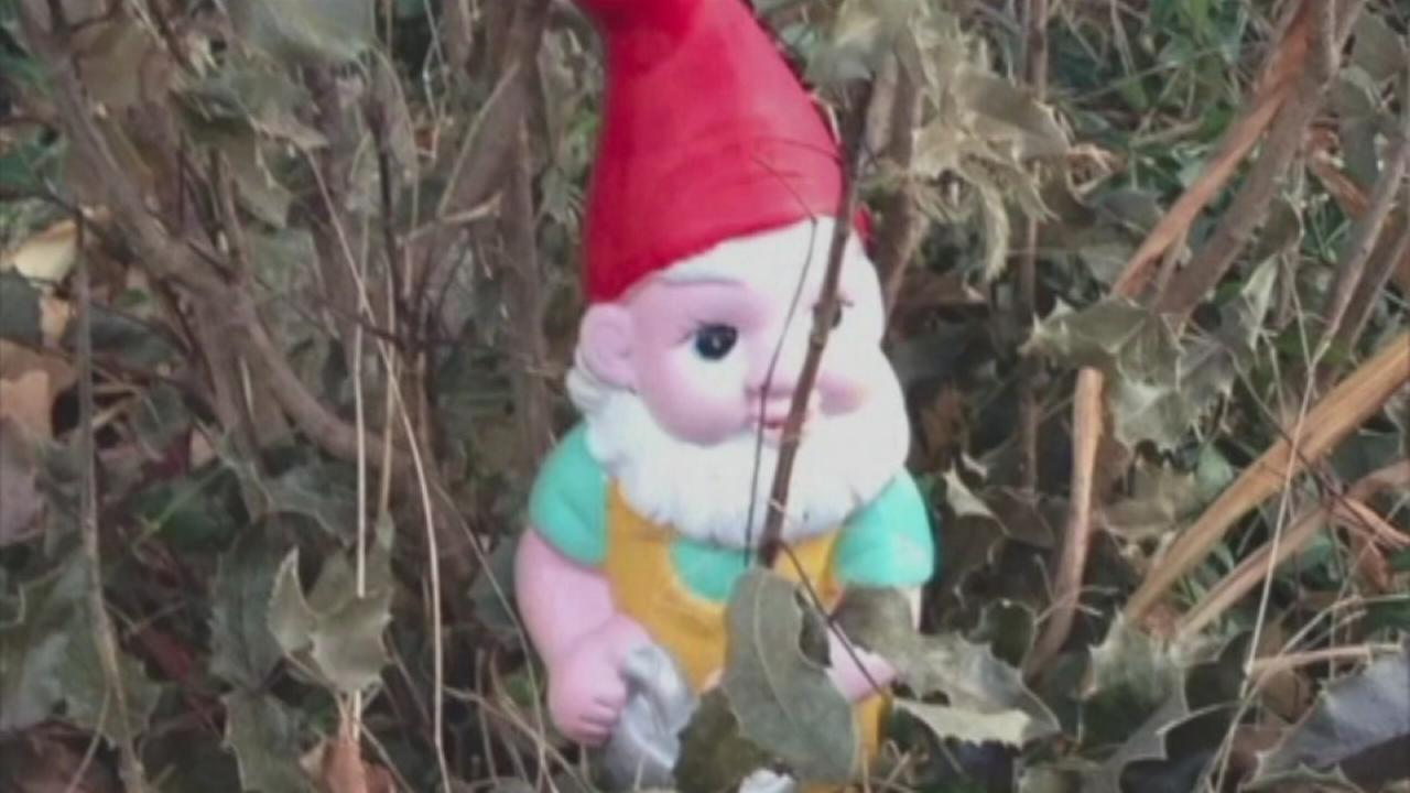 Gnome nabbed from yard, emails about freedom ensue