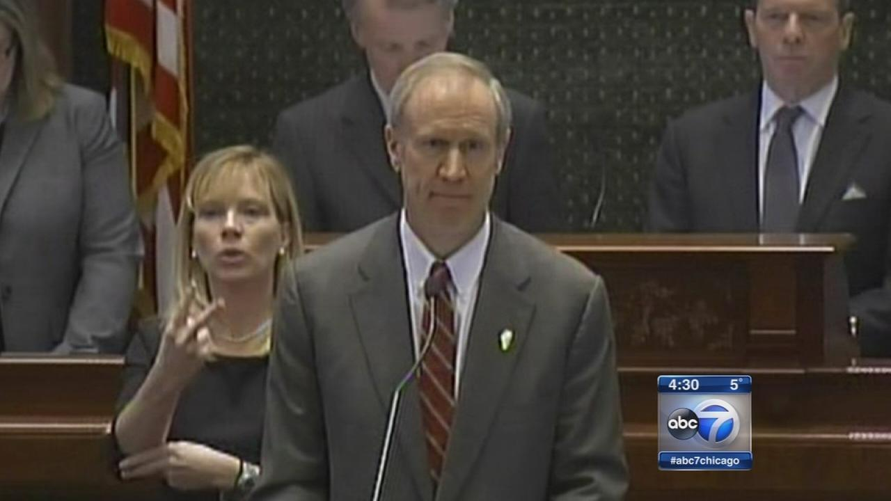 Opponents blast Rauner budget cuts to education, Medicaid