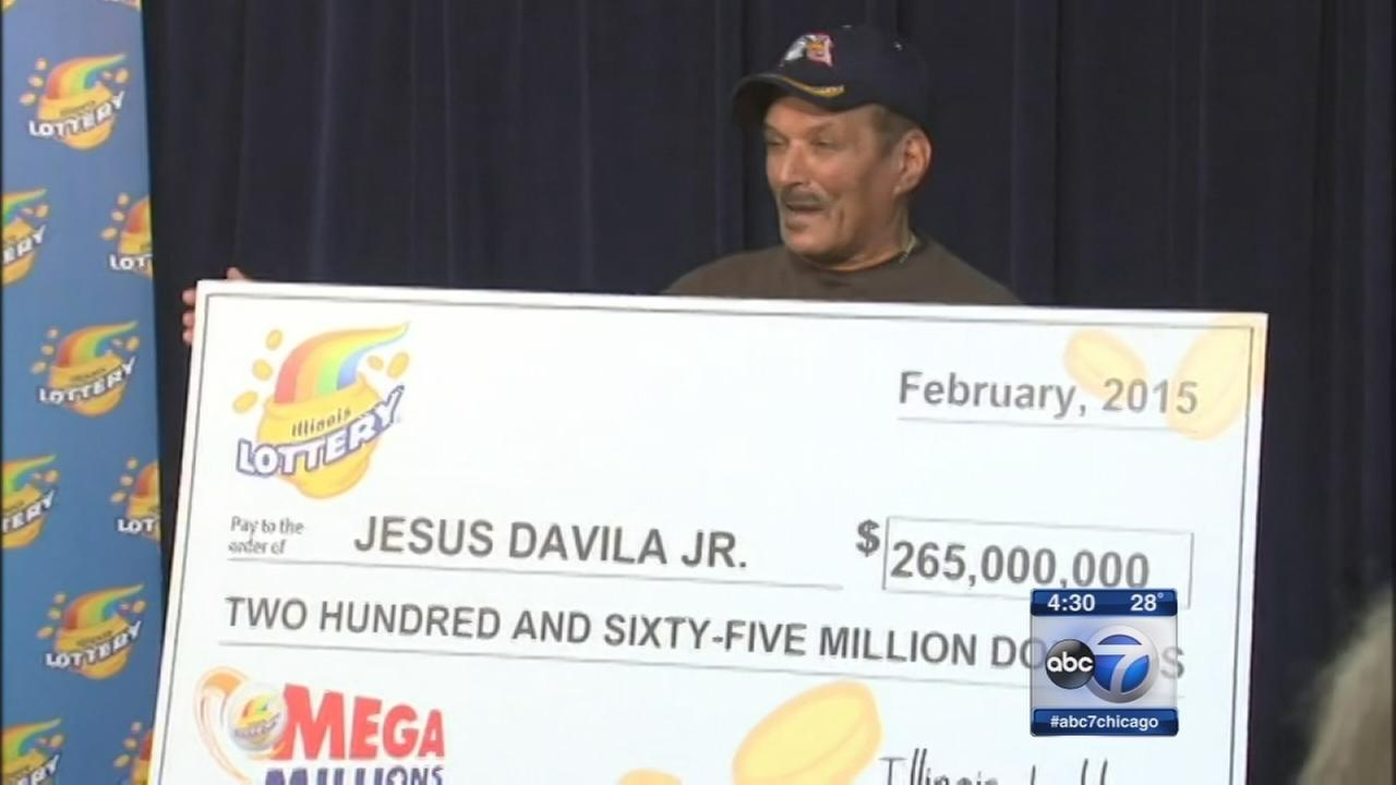 Naperville man claims $265M, largest in Illinois Lottery history