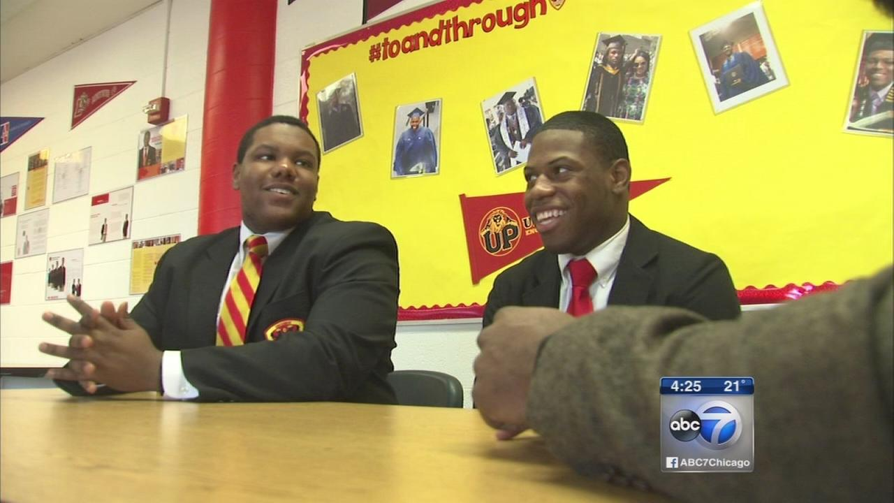 Urban Prep graduates turn attention to helping classmates in college