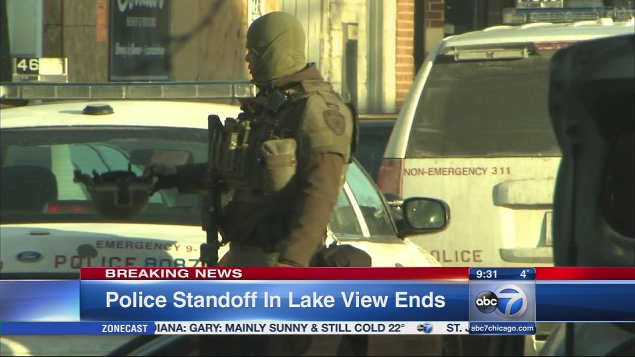 Barricade situation ends in Lakeview