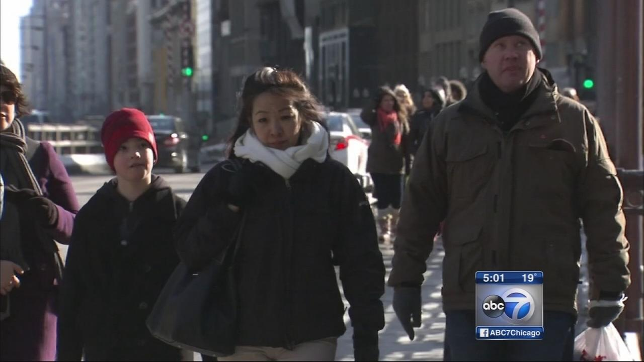 Frigid temps return, more snow on the way
