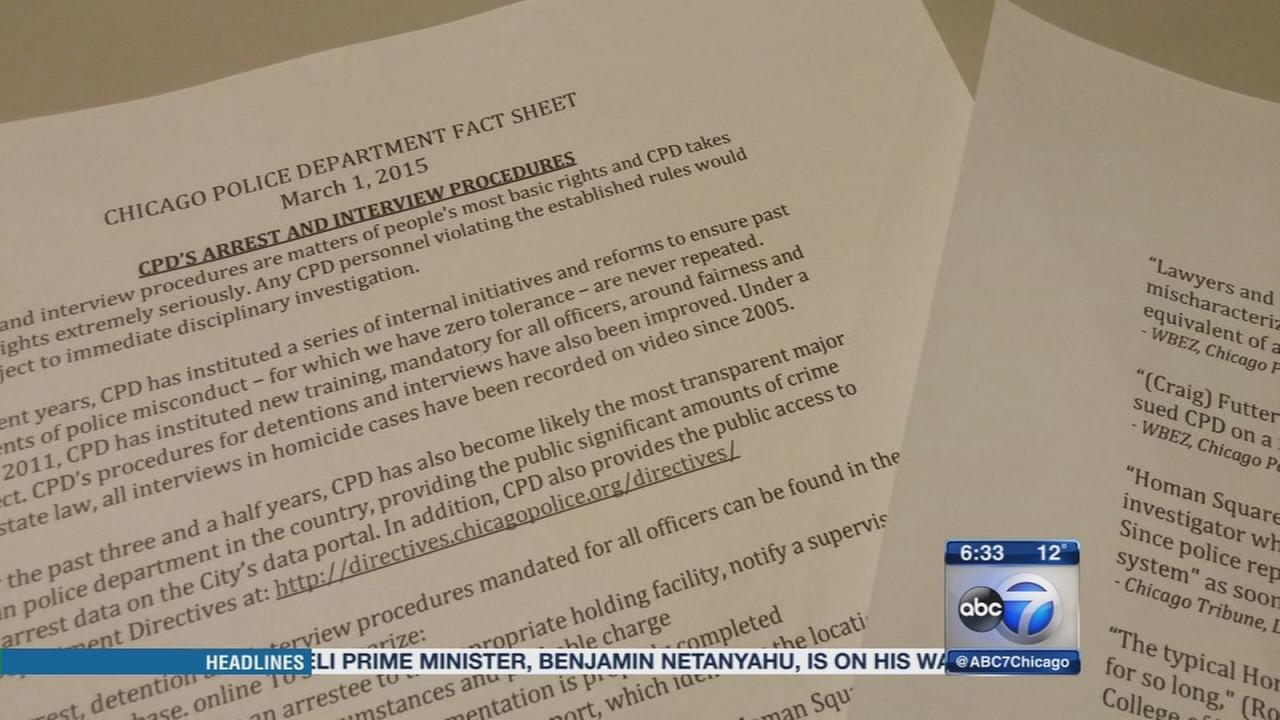 CPD releases fact sheet on Homan Square facility