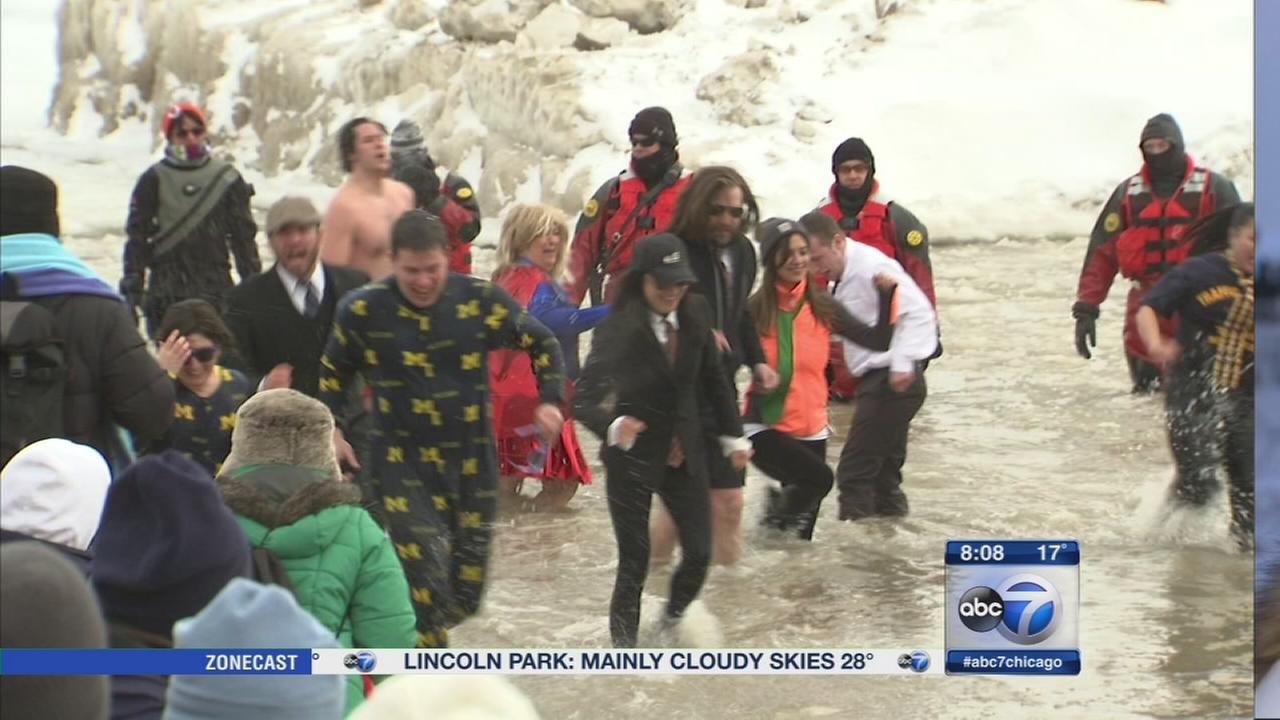 Annual Polar Plunge held in Chicago