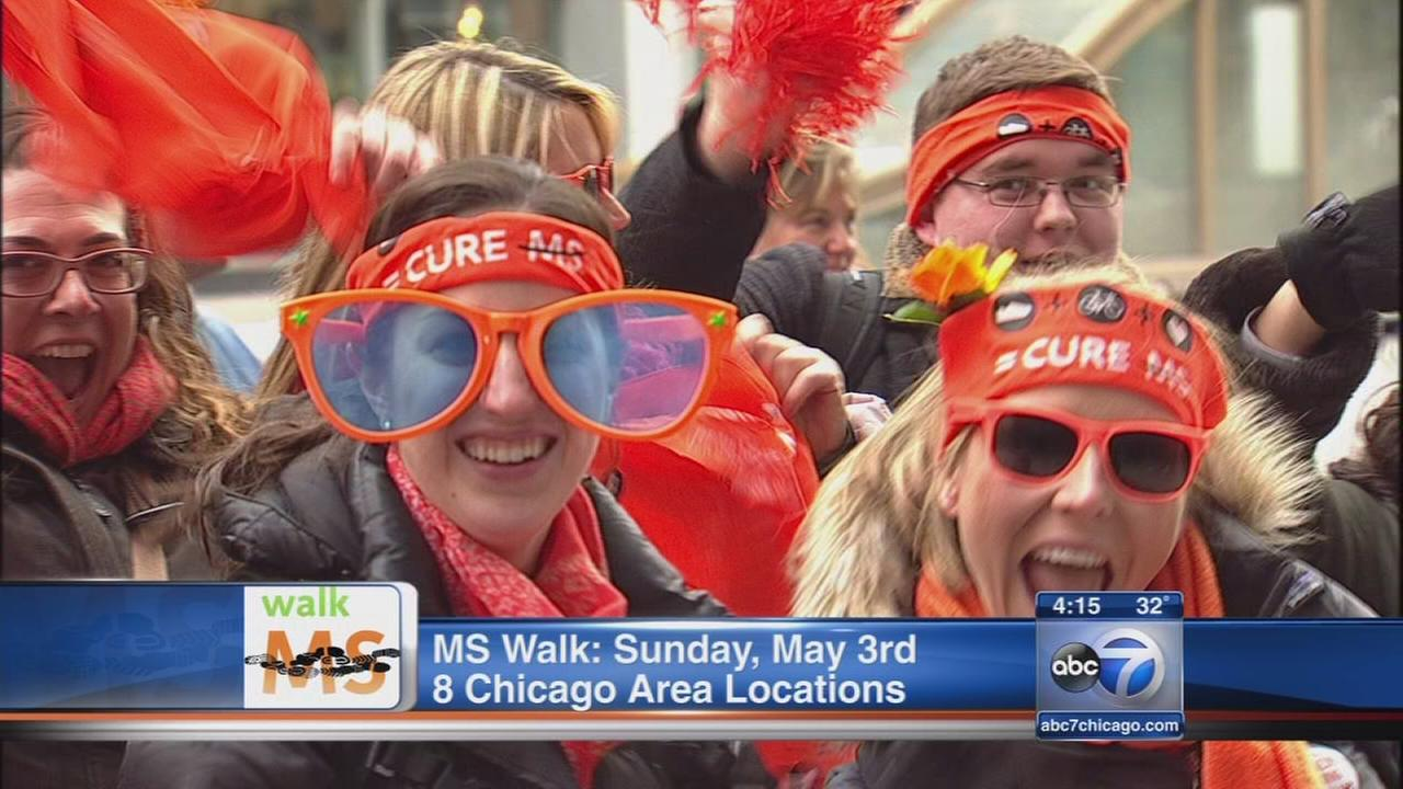 Walk MS 2015 coming to Illinois