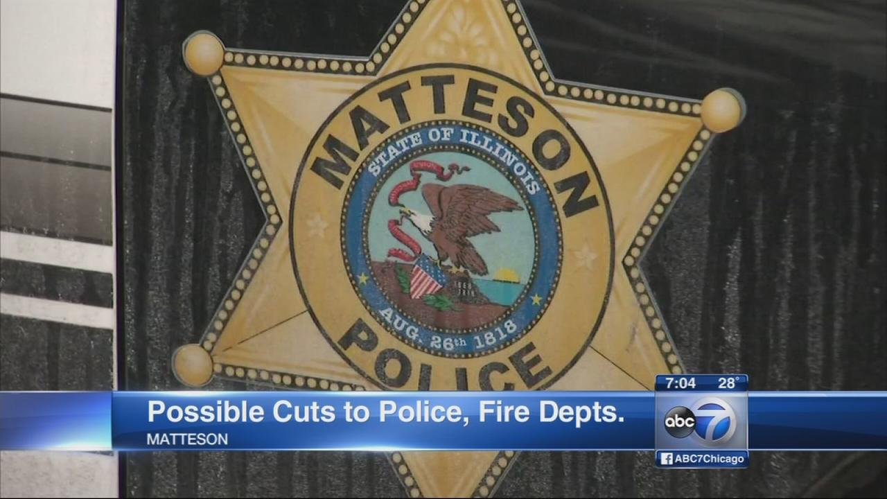Matteson board to vote on police, fire layoffs