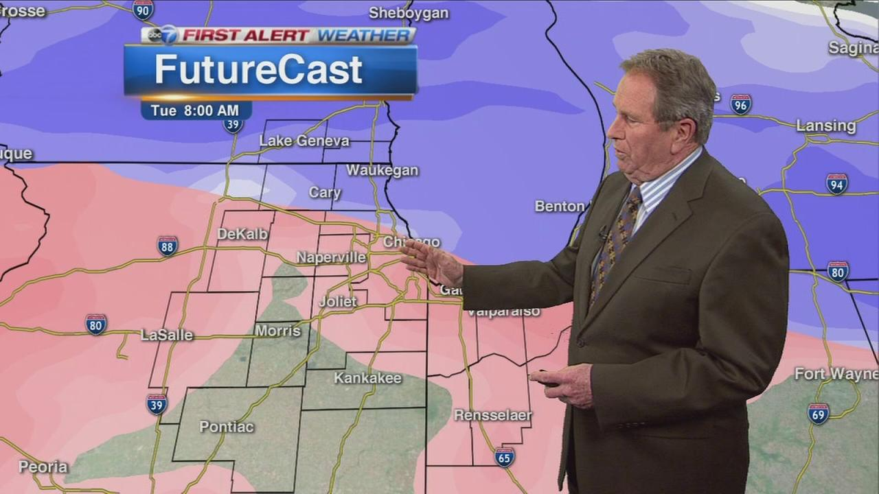 Snow, ice, rain to impact morning commute