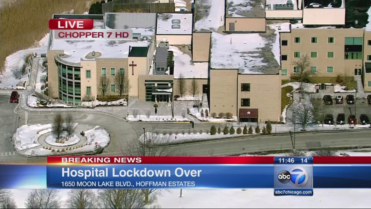 Hoffman Estates hospital lockdown over