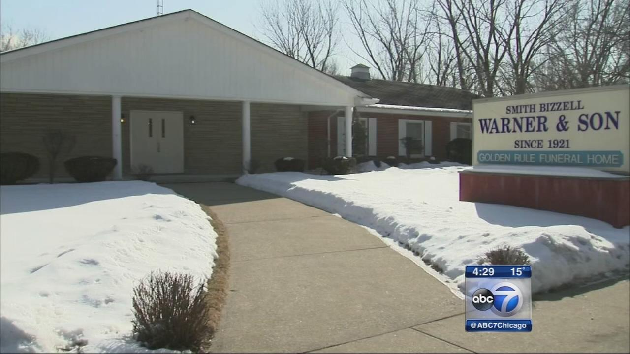 Infants remains found in funeral home ceiling